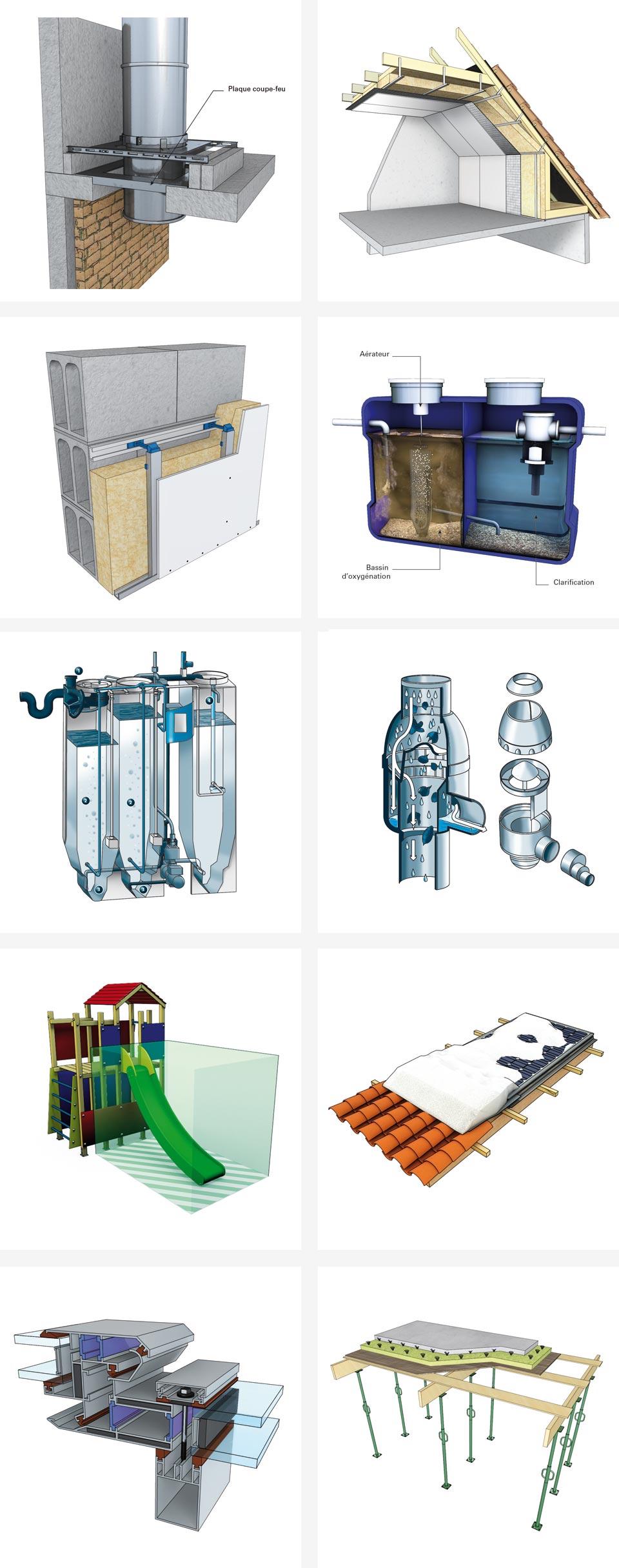 illustration BTP, 3D, 2D Cinema 4D Illustrator