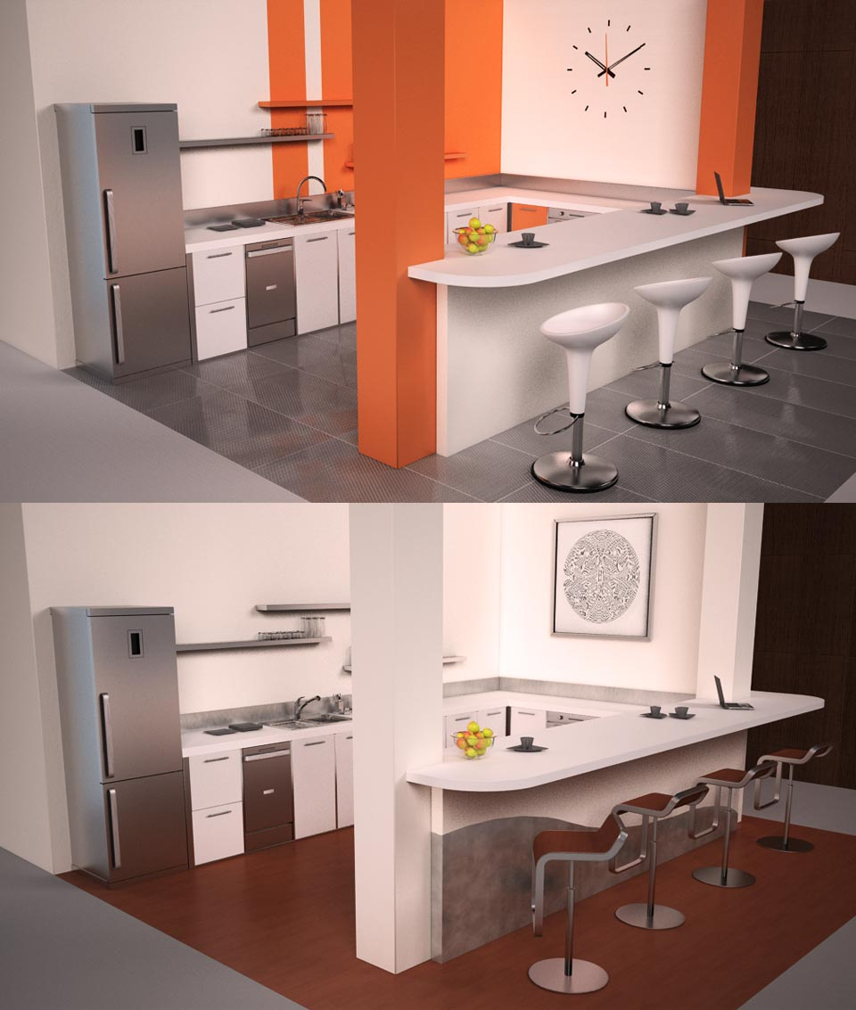 Illustration 3D Cinema 4D